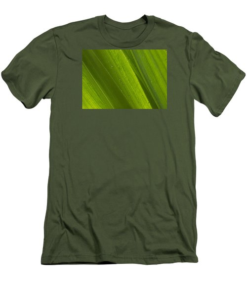 Green Abstract 2 Men's T-Shirt (Athletic Fit)