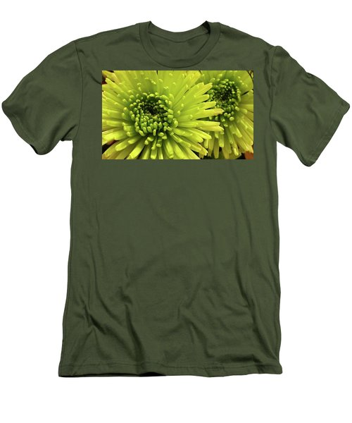 Green Delight Men's T-Shirt (Athletic Fit)