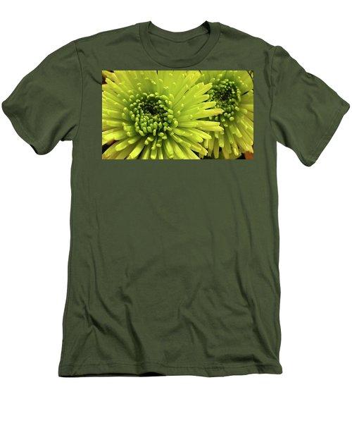 Green Delight Men's T-Shirt (Athletic Fit)