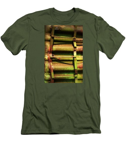 Green Ladder Men's T-Shirt (Slim Fit) by Newel Hunter