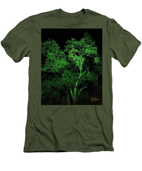 Green Magic Men's T-Shirt (Athletic Fit)