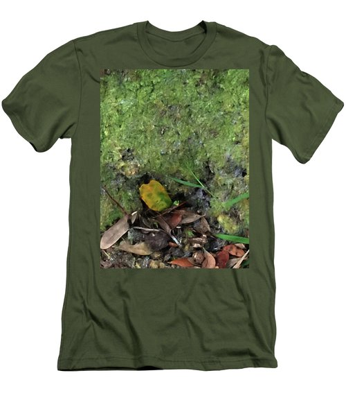 Green Man Spirit Photo Men's T-Shirt (Athletic Fit)