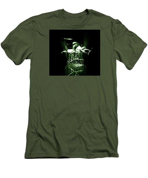 Green Men's T-Shirt (Slim Fit) by Rajiv Chopra