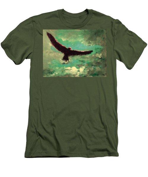 Green Sky Men's T-Shirt (Athletic Fit)
