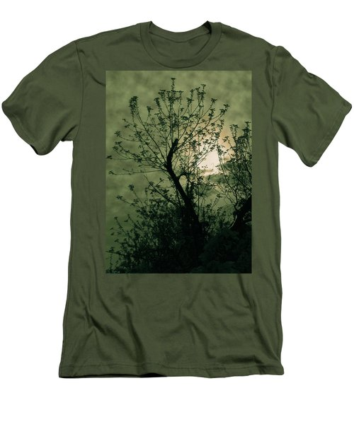 Green Sunset Men's T-Shirt (Athletic Fit)