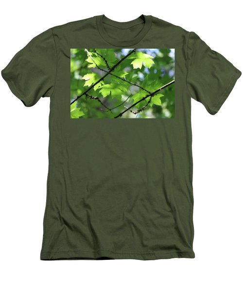 Greenleaves Men's T-Shirt (Athletic Fit)
