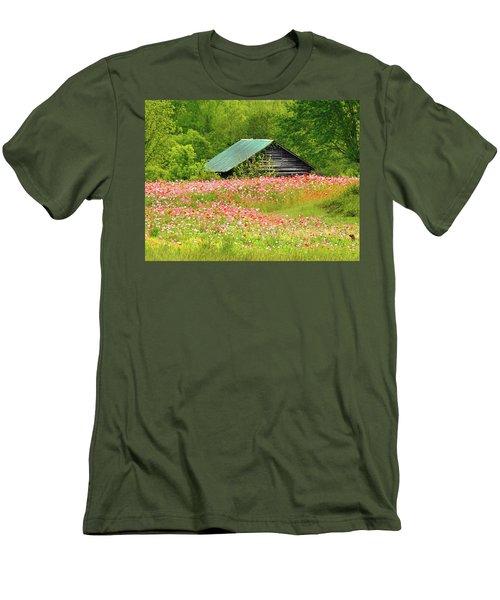 Ground Hog Daze Men's T-Shirt (Slim Fit) by Laura Ragland