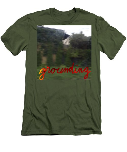Grounding Men's T-Shirt (Athletic Fit)