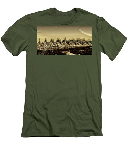 Growing Grapes In Temecula  Men's T-Shirt (Athletic Fit)
