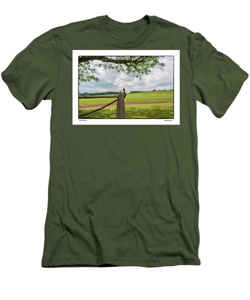 Growing Season Men's T-Shirt (Slim Fit) by R Thomas Berner