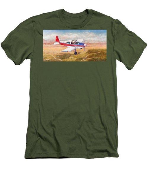 Grumman 1aa-1b  Men's T-Shirt (Athletic Fit)