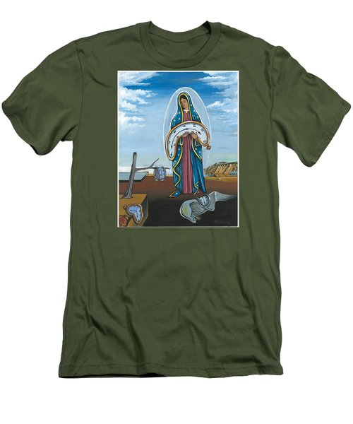 Guadalupe Visits Dali Men's T-Shirt (Athletic Fit)