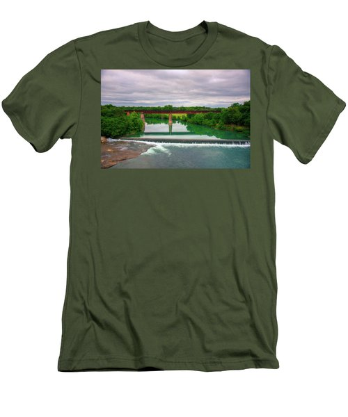 Guadeloupe River Men's T-Shirt (Slim Fit) by Kelly Wade