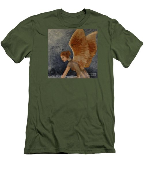 Guardian Angel Men's T-Shirt (Athletic Fit)