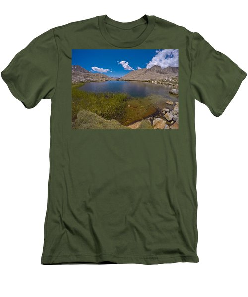 Guitar Lake Men's T-Shirt (Athletic Fit)