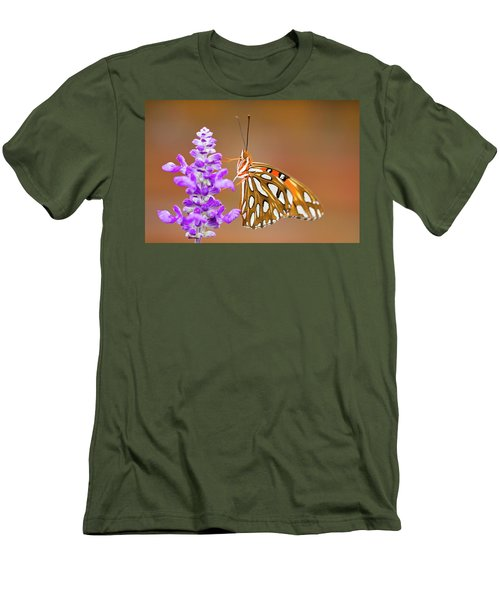 Gulf Fritillary Men's T-Shirt (Athletic Fit)