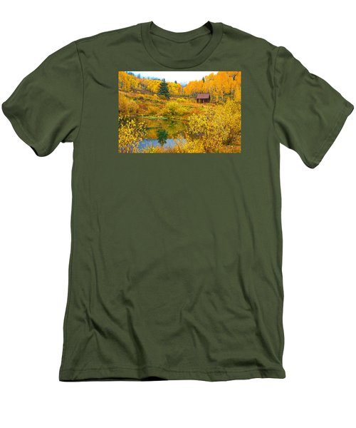Gunnison Reflection  Men's T-Shirt (Athletic Fit)