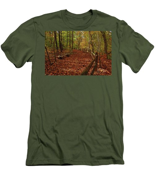 Gunpowder Falls Park Men's T-Shirt (Athletic Fit)
