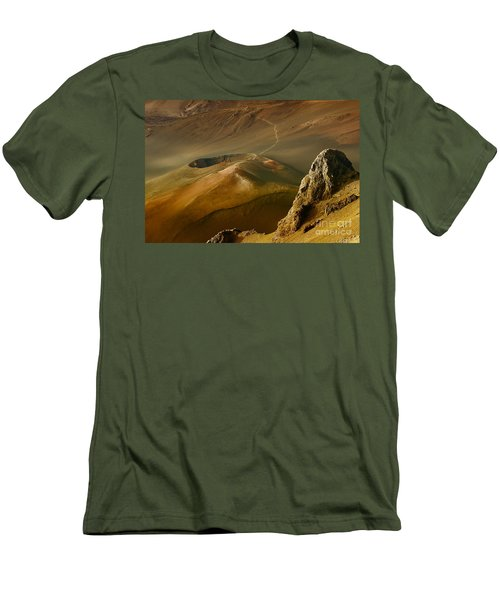 Haleakala Caldera Men's T-Shirt (Athletic Fit)
