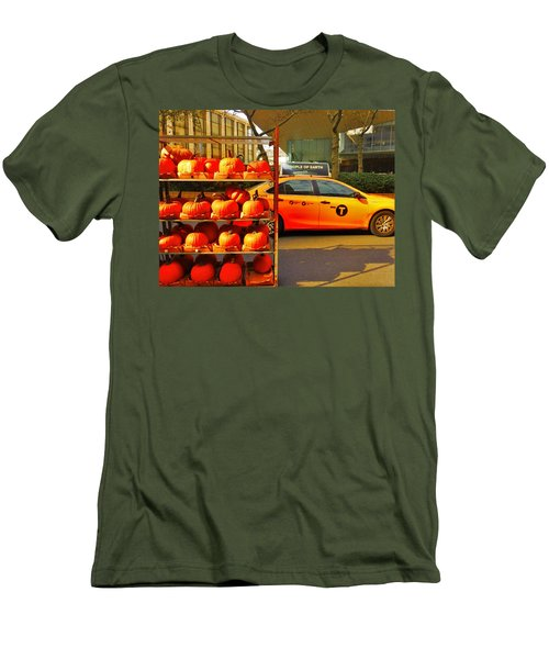 Halloween In New York  Men's T-Shirt (Athletic Fit)