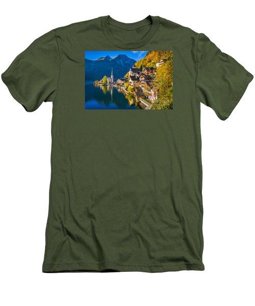 Hallstatt In Fall Men's T-Shirt (Athletic Fit)
