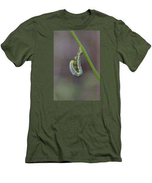 Hang, Then Reach Men's T-Shirt (Athletic Fit)