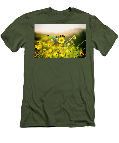 Happiness Men's T-Shirt (Slim Fit) by Joseph S Giacalone