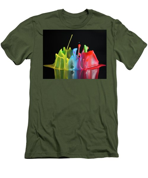 Men's T-Shirt (Slim Fit) featuring the photograph Happy Birthday by William Lee