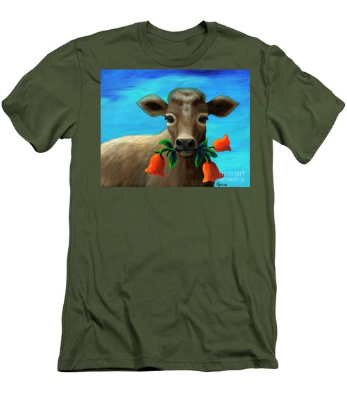 Happy Cow Men's T-Shirt (Athletic Fit)