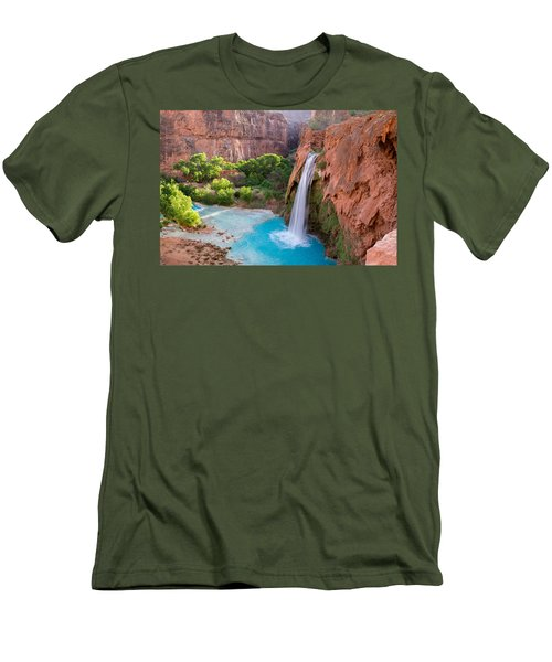Havasu Falls, Arizona 2 Men's T-Shirt (Athletic Fit)