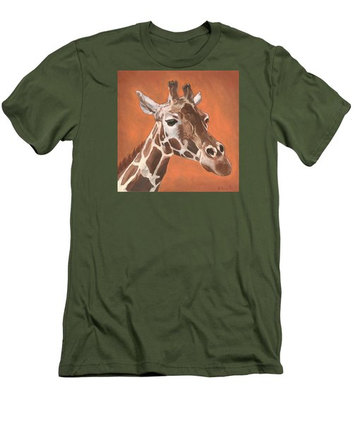 Have A Long Reach Men's T-Shirt (Slim Fit) by Nathan Rhoads