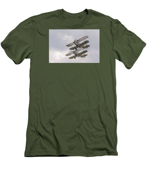 Hawker Nimrods Men's T-Shirt (Athletic Fit)