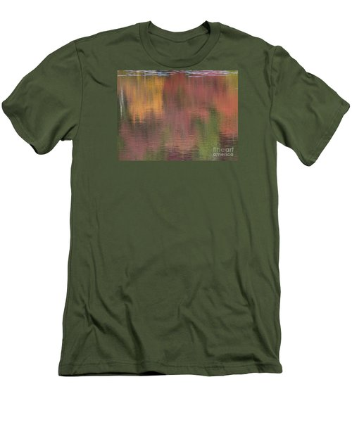 Hawkins Autumn Abstract II 2015 Men's T-Shirt (Athletic Fit)