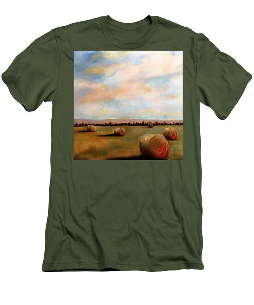 Hay Field Men's T-Shirt (Athletic Fit)