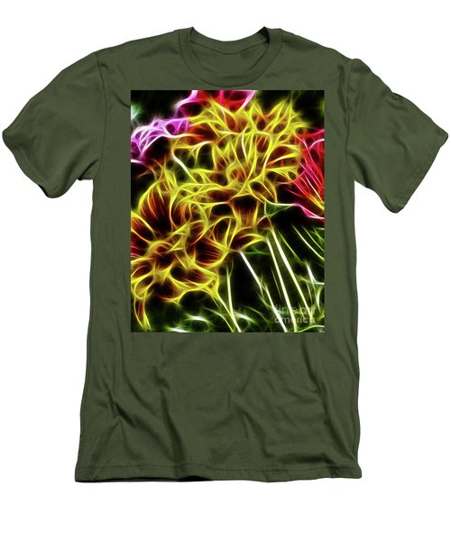 Hdr Light Drawing Men's T-Shirt (Athletic Fit)