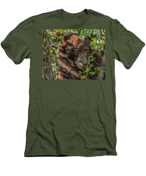 He Was Hiding In A Tree Men's T-Shirt (Athletic Fit)