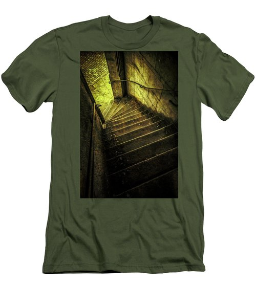 Head Full Of Drought Men's T-Shirt (Slim Fit) by Russell Styles