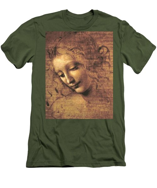 Head Of A Woman Men's T-Shirt (Athletic Fit)
