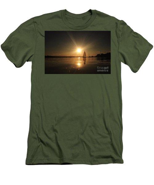 Heading Home Men's T-Shirt (Slim Fit) by Rod Jellison