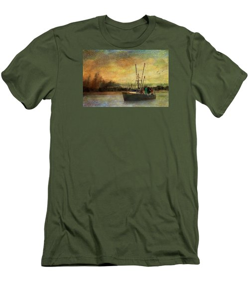 Men's T-Shirt (Slim Fit) featuring the photograph Heading Out by John Rivera
