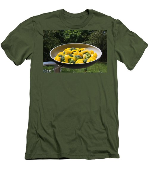Men's T-Shirt (Athletic Fit) featuring the photograph Healthy Breakfast by Vadim Levin