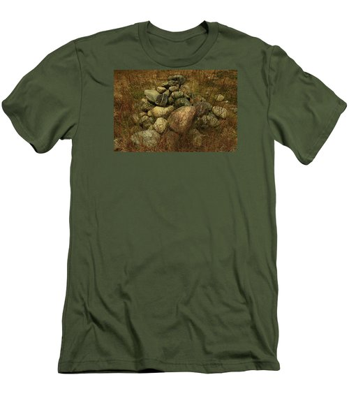 Heap Of Rocks Men's T-Shirt (Athletic Fit)