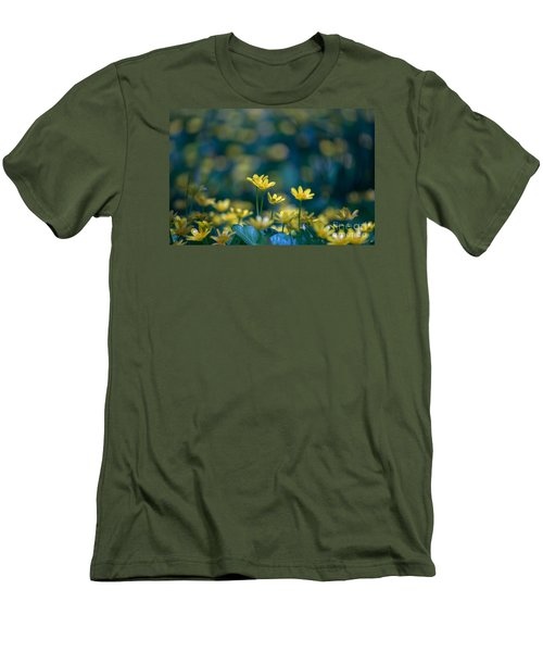 Men's T-Shirt (Slim Fit) featuring the photograph Heart Of Small Things by Rima Biswas