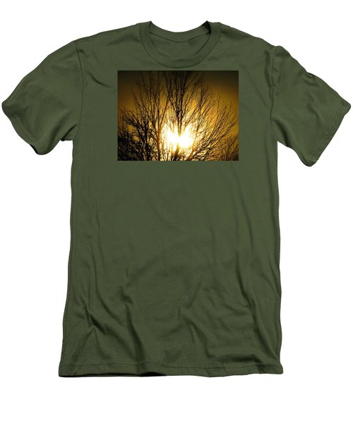 Heart Of The Sun Men's T-Shirt (Athletic Fit)
