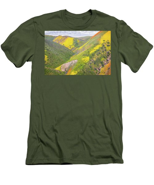 Men's T-Shirt (Slim Fit) featuring the photograph Heart Of The Temblor Range by Marc Crumpler