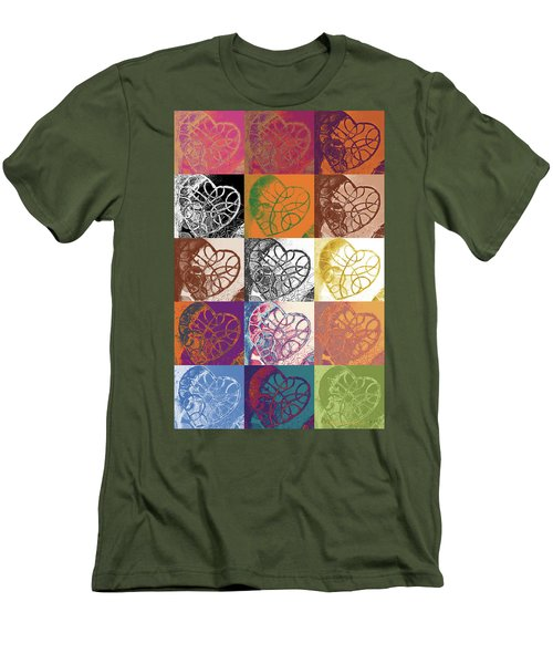 Heart To Heart Rendition 5x3 Equals 15 Men's T-Shirt (Athletic Fit)