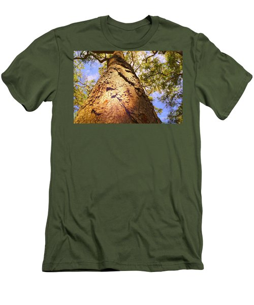 Height Men's T-Shirt (Slim Fit) by Cassandra Buckley