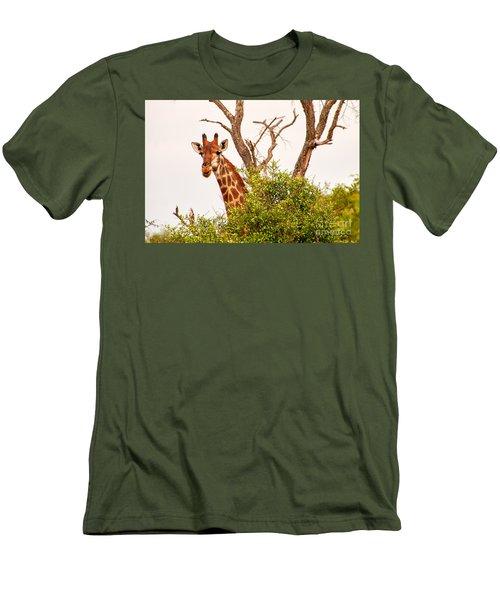 Hello Men's T-Shirt (Slim Fit) by Juergen Klust