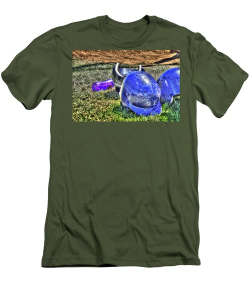 Helmets And Water 1808 Men's T-Shirt (Slim Fit) by Jerry Sodorff