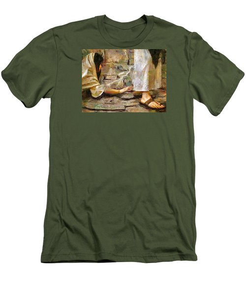Hem Of His Garment Men's T-Shirt (Athletic Fit)